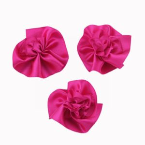 Satin Ribbon Flower (JSY-6) pictures & photos