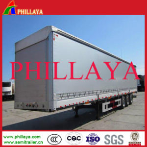 40FT BPW Axles Euro Style Curtain Side Van Trailer pictures & photos