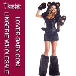 Sexy Bear Catsuit Costume Animal Costume (L1428-1) pictures & photos