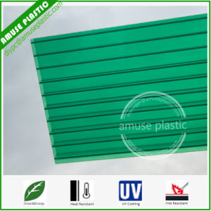 4/6/8/10mm 100% Bayer Decorative Material cellular Cover Hollow Polycarbonate Sheet pictures & photos