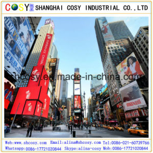 Black Back (500*500D) PVC Frontlit Flex Banner for Outdoor Advertising pictures & photos