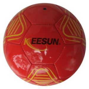 Machine Stitched Soccer Balls /PVC pictures & photos