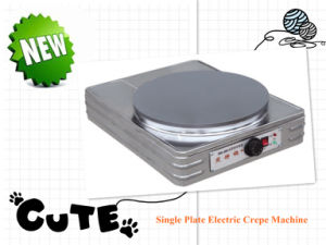 Single Plate Electric Crepe Machine