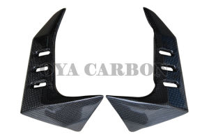 Carbon Fiber Motorbike Parts Radiator Covers for Kawasaki Z1000 pictures & photos