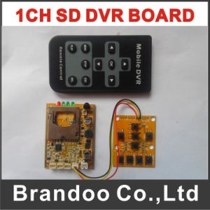 D1 Motion Detection 1 Channel SD Mini DVR Module with 4 Recording Modes pictures & photos