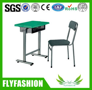 Simple Design Cheap Student Single Desk and Chair (SF-33S) pictures & photos