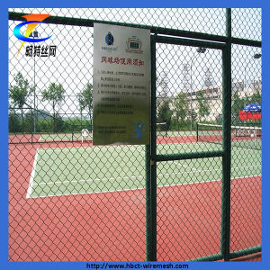 The Tennis Court Chain Link Fence for Security Protection pictures & photos