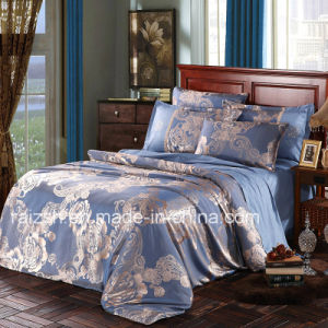 European Classic Extreme Jacquard Brushed 4 PCS Textile Bedding pictures & photos