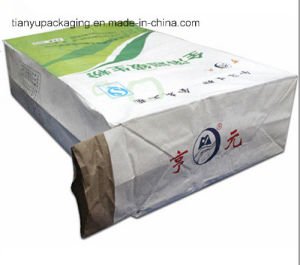 Flat Bottom Paper Valve Bag for Packaging Dry Mortar pictures & photos