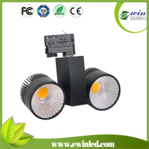 2X20W LED Track Light with Hight Brightness 3wires-1 Circuit pictures & photos