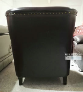 New Arrival Leather Chair, Club Chair, Single Sofa Chair (A888) pictures & photos