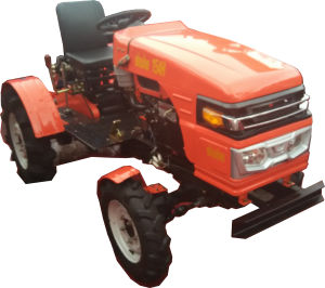 4 Wheel Drive Mini Tractor (SH154) pictures & photos