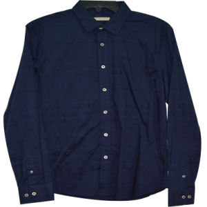 Men′s Long Sleeve Corduroy Shirt Xdl15009