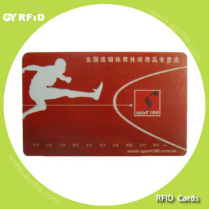 ISO Utralight C Hf RFID Plastic Card for RFID Attendance System (GYRFID) pictures & photos