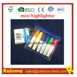 Plastic Mini Syringe Promotion Highlighter pictures & photos