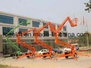 10m Aerial Working Maintenance Articulated Boom Lift pictures & photos