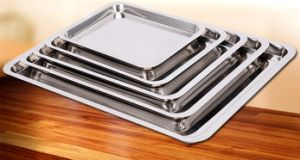 Stainless Steel Food Tray for Kitchenware pictures & photos