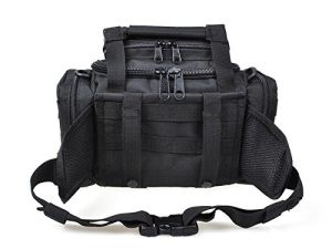 Shoulder and Waist Straps Water Resistant Fishing Hunting Tactical Bag pictures & photos