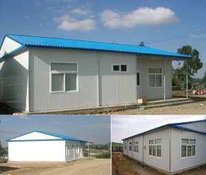 Steel Frame Sandwich Panel Prefab/Modular/Mobile/Prefabricated House pictures & photos