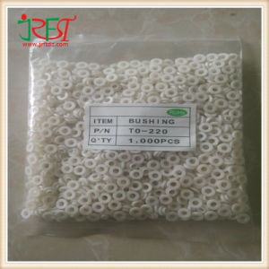 1000PCS Insulation Particles Insulating Cap Silicone Tablet Transistor Pads Rubber Bushing to-220 Package pictures & photos