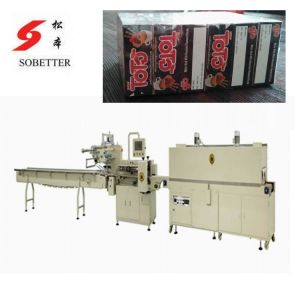 Boxes Shrink Packaging Machine with Tunnel and Feeder pictures & photos