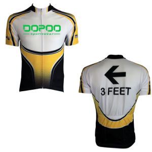Breathable Short Sleeves Cycling Jersey Shirt for Men pictures & photos