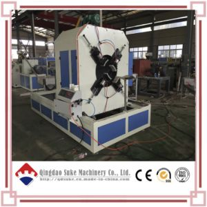 PE/PVC Plastic Corrugated Pipe Extrusion Making Extruder Machine pictures & photos