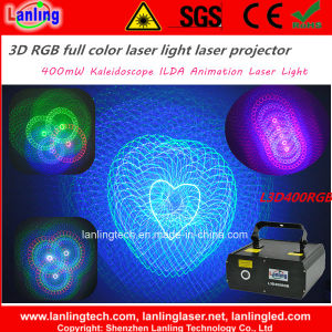 400MW RGB Kaleidoscope 3D Ilda Animation Laser Light (L3D400RGB) pictures & photos
