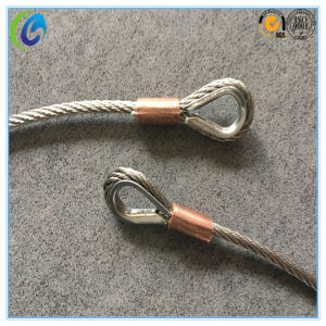Stainless Steel Wire Rope Slings with Copper Ferrule pictures & photos
