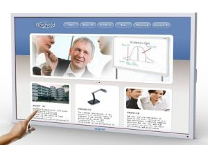 55 Inch Multi-Touch Screen Monitor for Educational Institutions