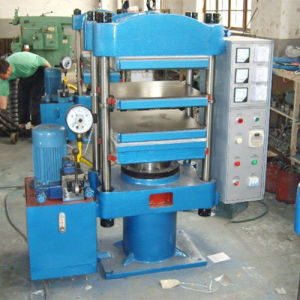 Lab Rubber Hydraulic Vulcanizer Machine pictures & photos