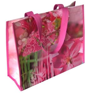 Non Woven Laminated Shopping Bag PP Woven Lamination Shopper pictures & photos