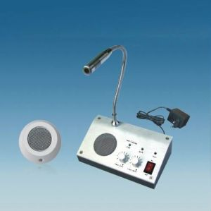 Two-Way Window Intercom System for Counter (RL-9909)