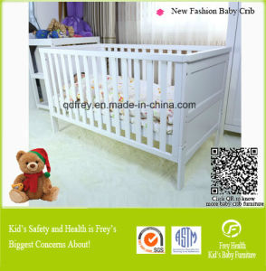Home Furniture of Baby Crib with Drawer pictures & photos