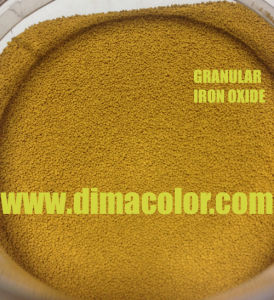 Bead Granular Iron Oxide Yellow G313 for Construction Material pictures & photos