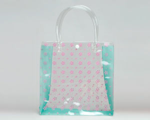PVC Soft Hand Bag for Packaging
