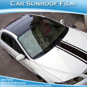 Super Glossy Black Car Sunroof Sticker