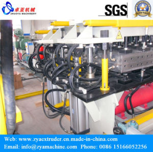 Hollow Grid Plate Machine for PP PE PC Sunlight Hollow Plate pictures & photos