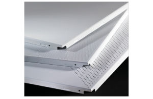 Perforated Clip in Aluminum Suspended Ceiling for Decoration