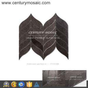 Century Mosaic Mediterranean Gray Hot Sales Marble Tile Mosaic for Bathroom and Kitchen