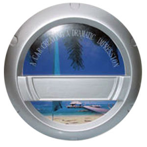 Baik′s Spare Tyre Cover Stainless Steel (STC-06-04B)