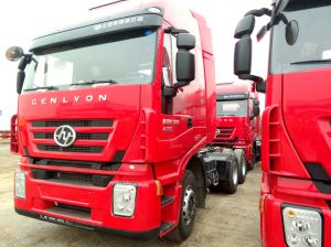 2018 Iveco Genlyon Tractor Truck 6X4 Left Hand Driving Hot Sale pictures & photos