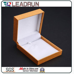 Leather Velvet Jewelry Storage Box Souvenir Present Bangle Cufflink Packing Gift Box (YSP134) pictures & photos