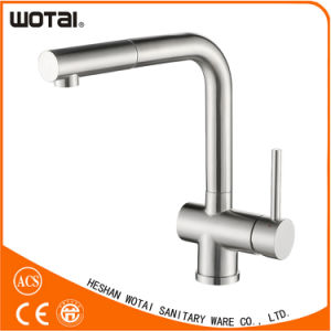 Wholesale High Quanlity Single Lever Pull out Kitchen Sink Faucet pictures & photos