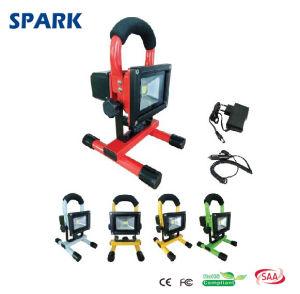 10W Portable Rechargeable LED Flood Light