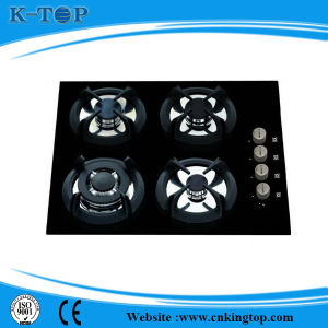 Kitchen 4 Burner Hot Sales Gas Hobs, Gas Stove with Tempered Glass