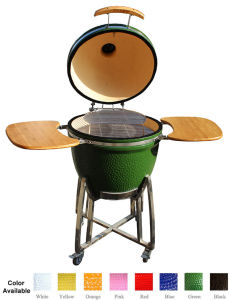 Top Ranking 23.5 Inches Kamado Ceramic BBQ Smoker