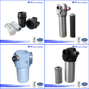 Medium Pressure 21 MPa Hydraulic Line Filter Housing pictures & photos