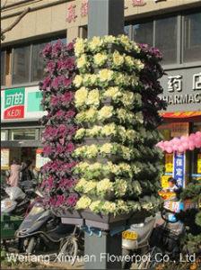 Square Combination Flowerpot Trustworthy Flowerpot Manufacturer