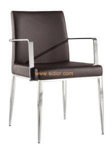 (SD-1020) Modern Home Restaurant Dining Furniture Leather Armchair pictures & photos
